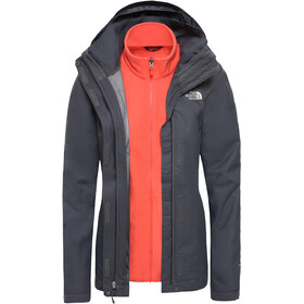 The North Face Evolve II Triclimate Jacket Women vanadis grey/radiant orange